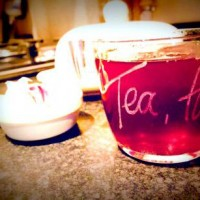 Personalised Teacups - Hand Engraved Glass
